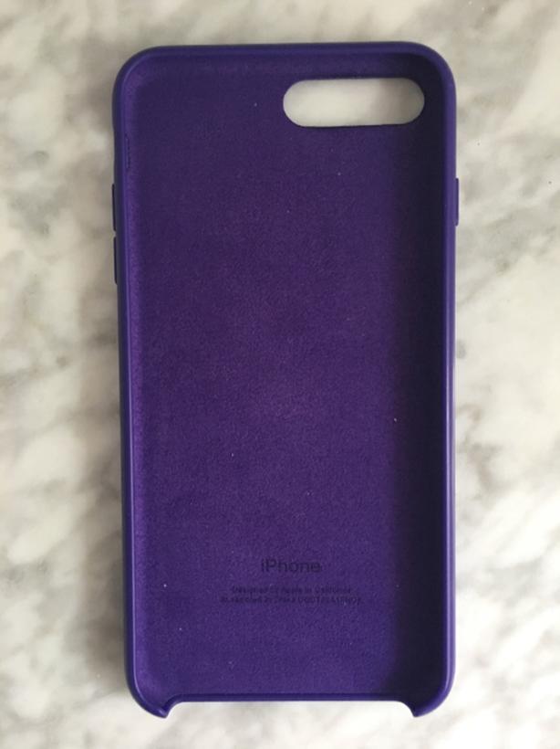 newest 53ae8 d0b83 Apple iPhone 8 Plus / 7 Plus Silicone Case - Ultra Violet Victoria ...