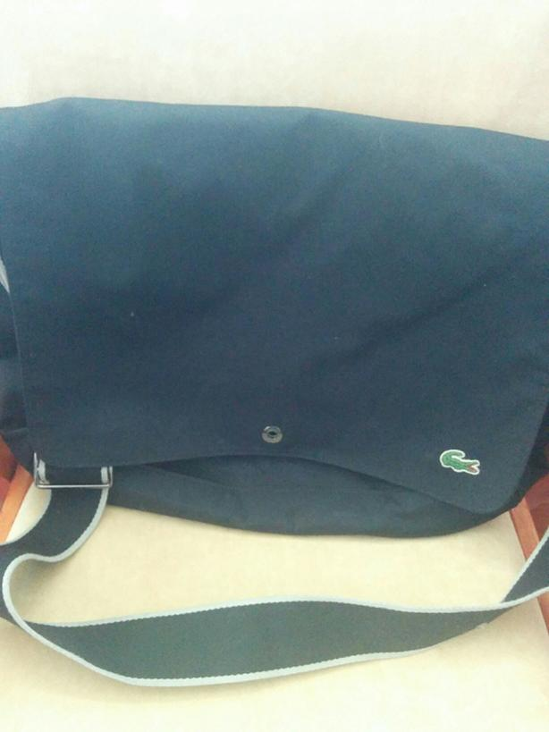 Swiss Gear or Lacoste laptop bag