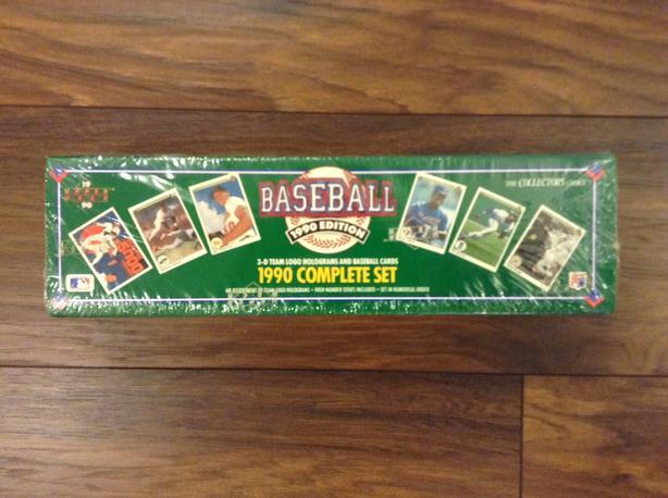 1990 Upper Deck Baseball Factory Sealed Complete Set Saanich Victoria