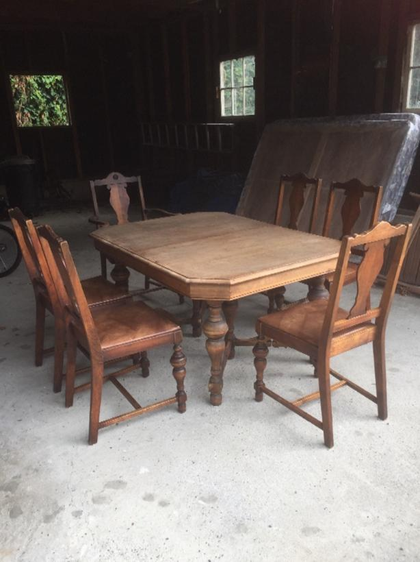 Gorgeous Antique Dining Table And 6 Chairs Victoria City Victoria Mobile