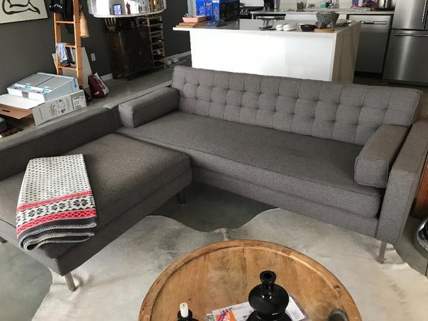 mid century modern gus modern sofa victoria city victoria