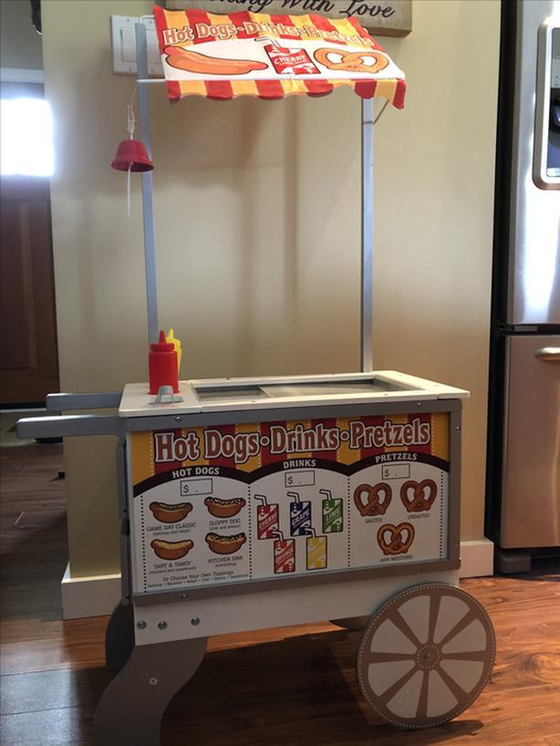 Melissa Amp Doug Snacks Amp Sweets Food Cart Malahat