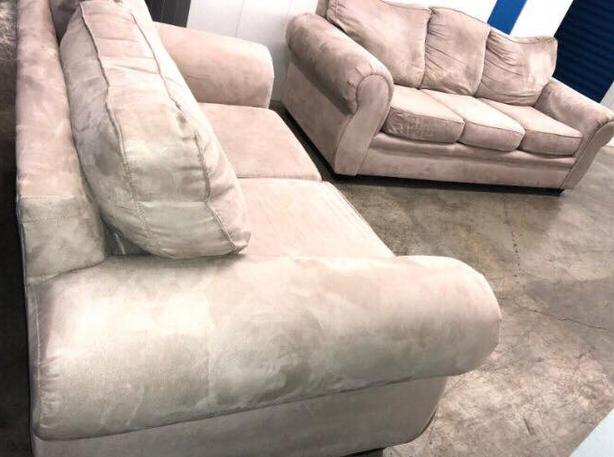 Microfiber Couch Set