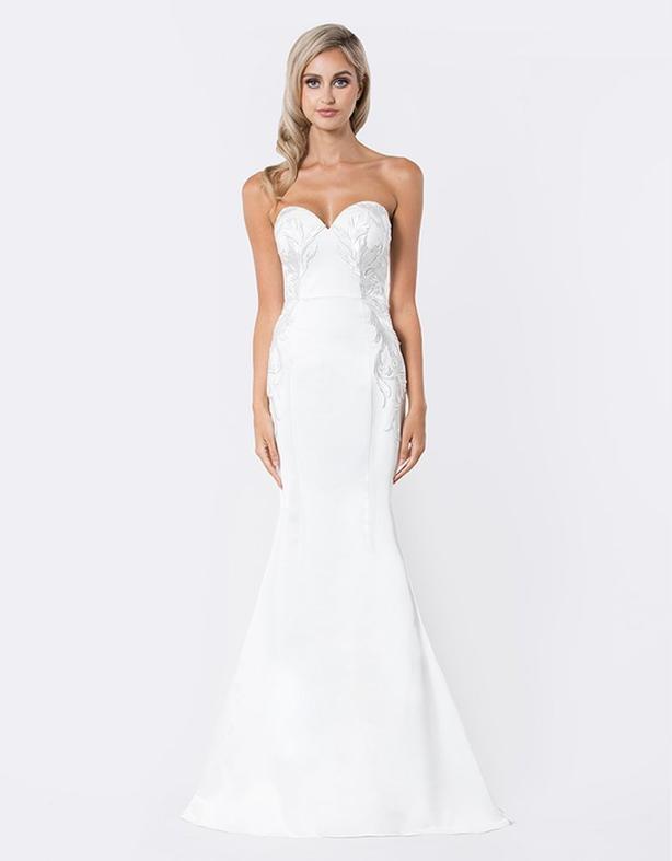 Bariano Strapless Wedding Dress Size 6 North Saanich Sidney