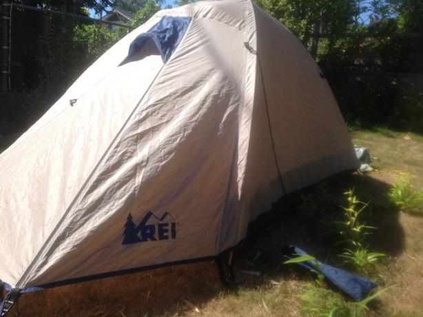 REI Half Dome Tent (Excellent Condition) & REI Half Dome Tent (Excellent Condition) Oak Bay Victoria