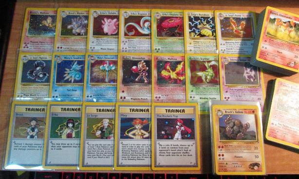Wanted: Pokemon Cards: Team Rocket, Gym Hero and Gym Challenge Cards.