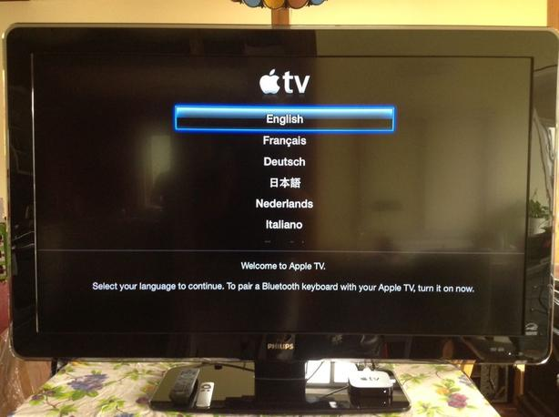 5e1056338f0867 Full HD 52  34  LCD TV - Philips - Apple TV, and one HDMI cable ...