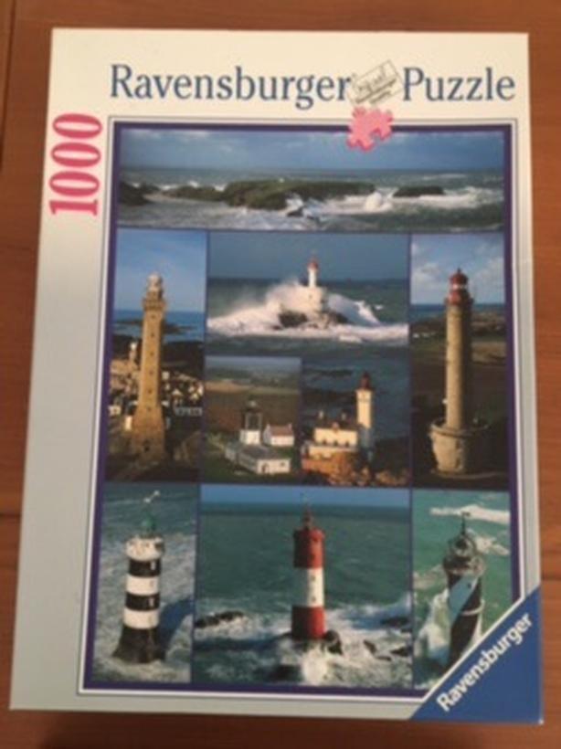 1000 piece Ravensburger jigsaw puzzles Esquimalt & View