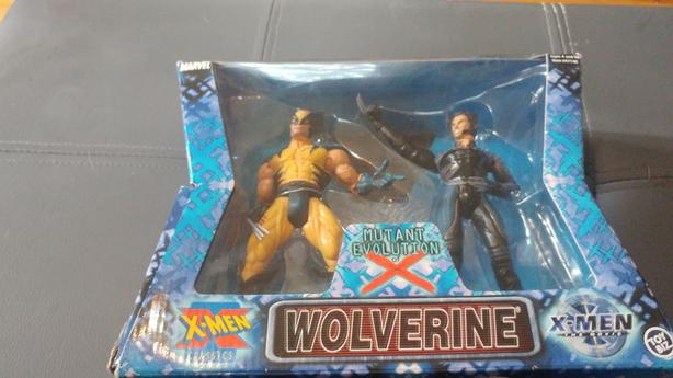 X-men mutant Evolution Wolverine action figures