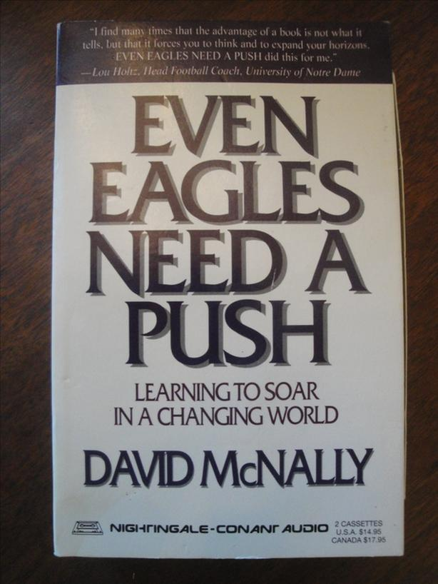 Even Eagles Need A Push - 2 Motivational Self Improvement Audio Tapes