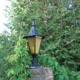 Large Antique Cast Driveway Light Fixtures