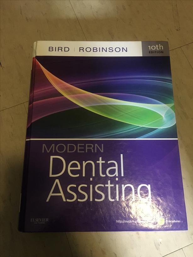 Modern dental assisting 10th edition textbook