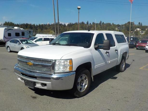 2012 Chevrolet Silverado 1500 LT Crew Cab Short Box 4WD with Canopy