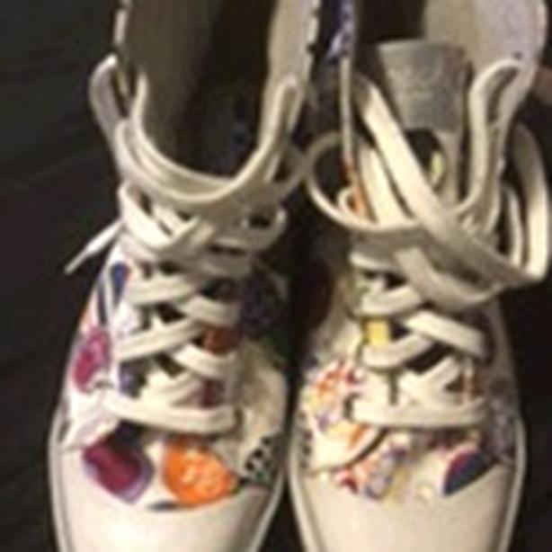 Coach sneakers sz 10
