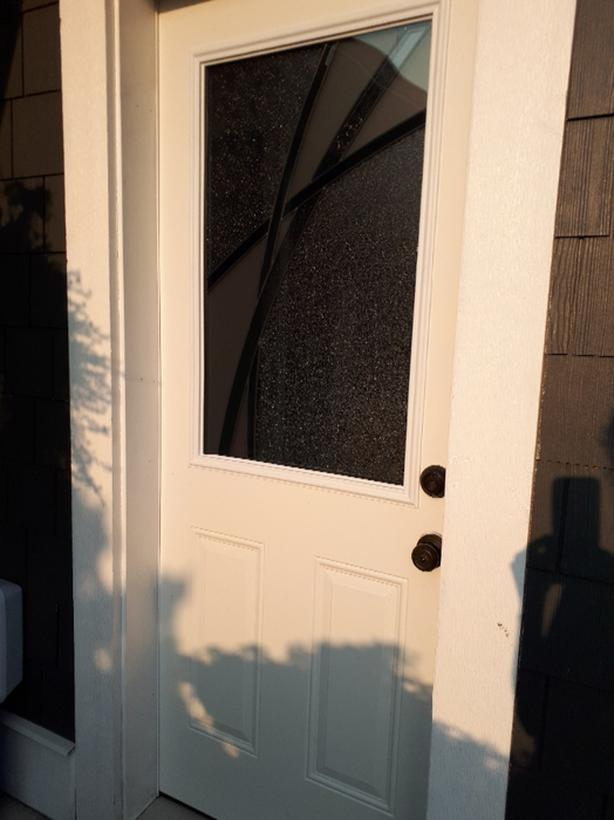 Exterior door with glass panel Qualicum, Nanaimo