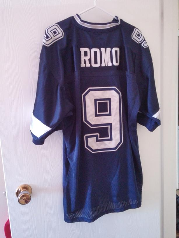 best loved 13337 c01e3 Reebok Tony Romo #9 Jersey - Large - On Field Saskatoon ...