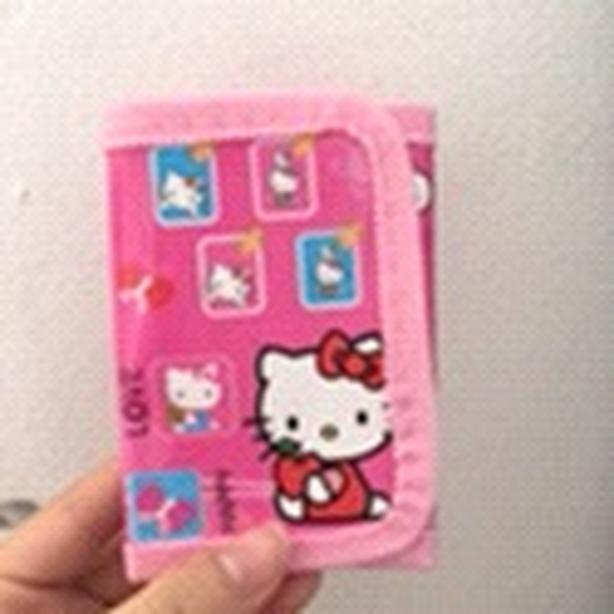 hello kitty kids wallet