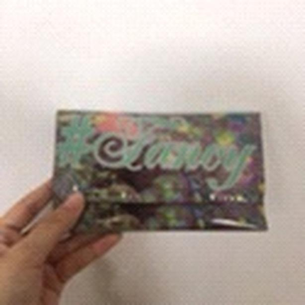 #fancy shiny wallet from claire's