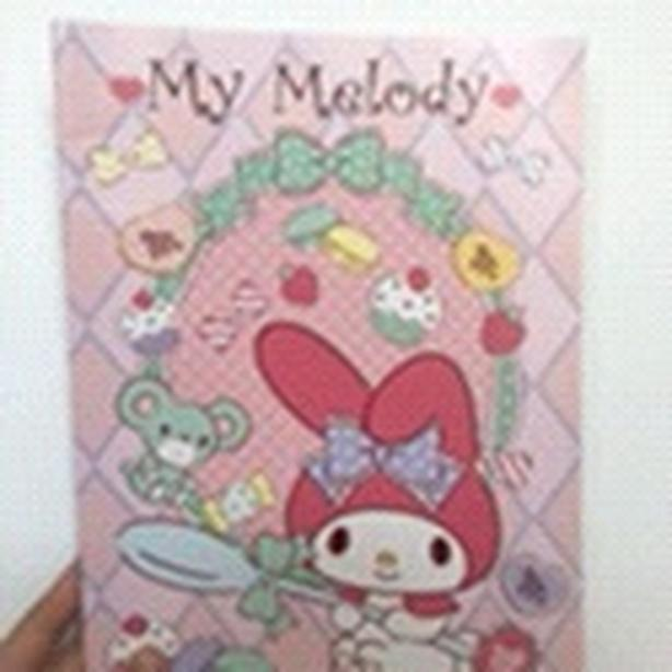 my melody notebook