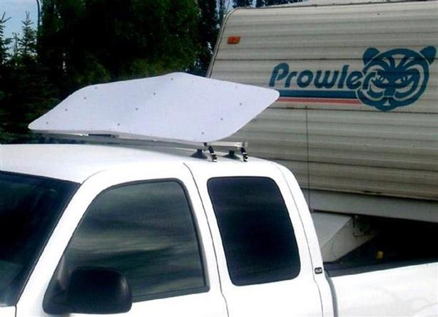 Wind Deflector ~ for pulling trailers ~