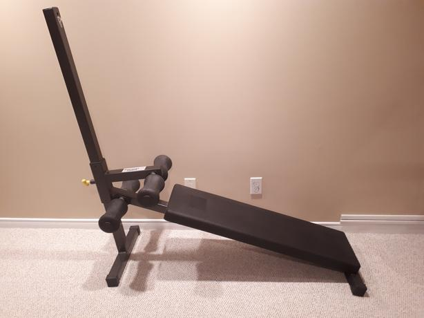 Northern Lights Deluxe Sit Up Bench Abdominal Bench Orleans