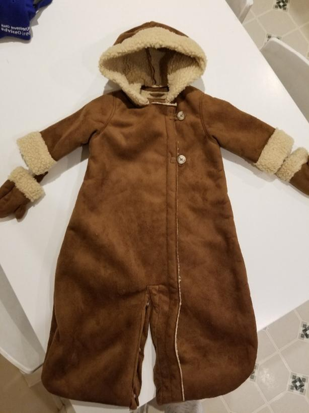 Baby Gap Winter jacket onsie