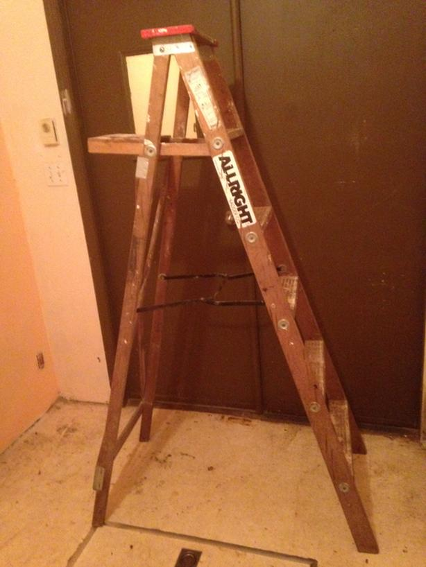 6 Foot Wooden Step Ladder Chemainus Cowichan