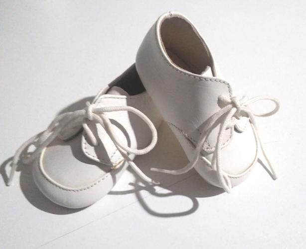 Oddly's Infant Baptism Christening Leather Shoes