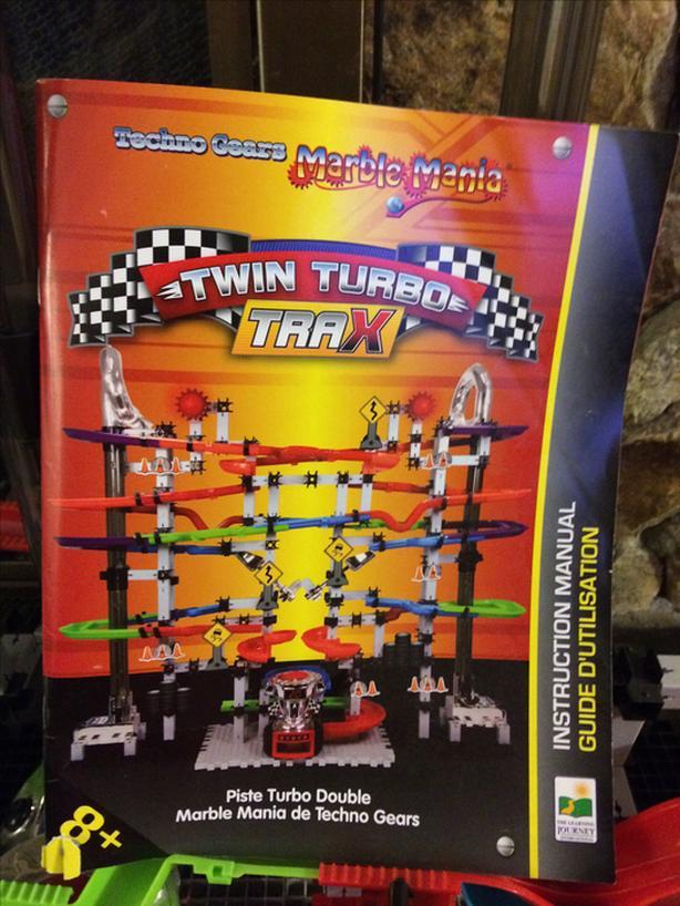 Techno Gears Marble Mania Twin Turbo Trax Central Saanich Victoria