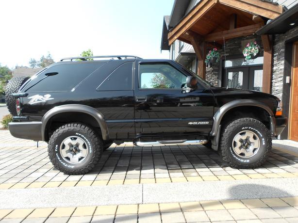 2005 Chevy Blazer Zr2 4x4 Only 136000 Kmsno Accidentslocal