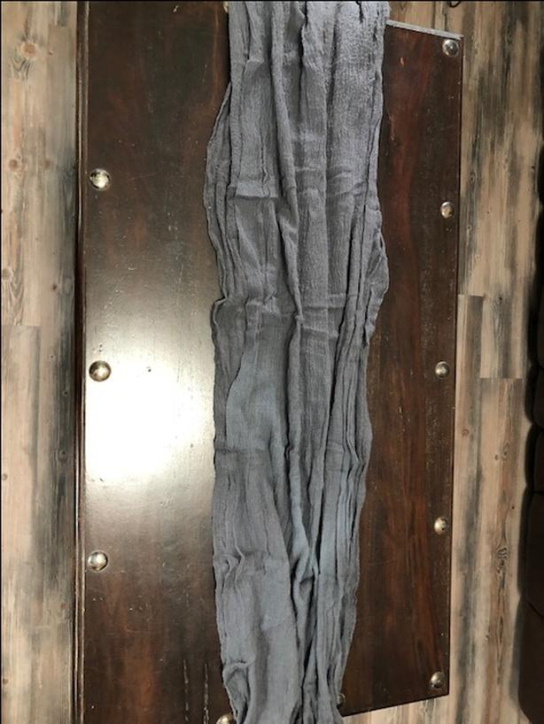 10 foot gray table runner Lot of 9 pieces left