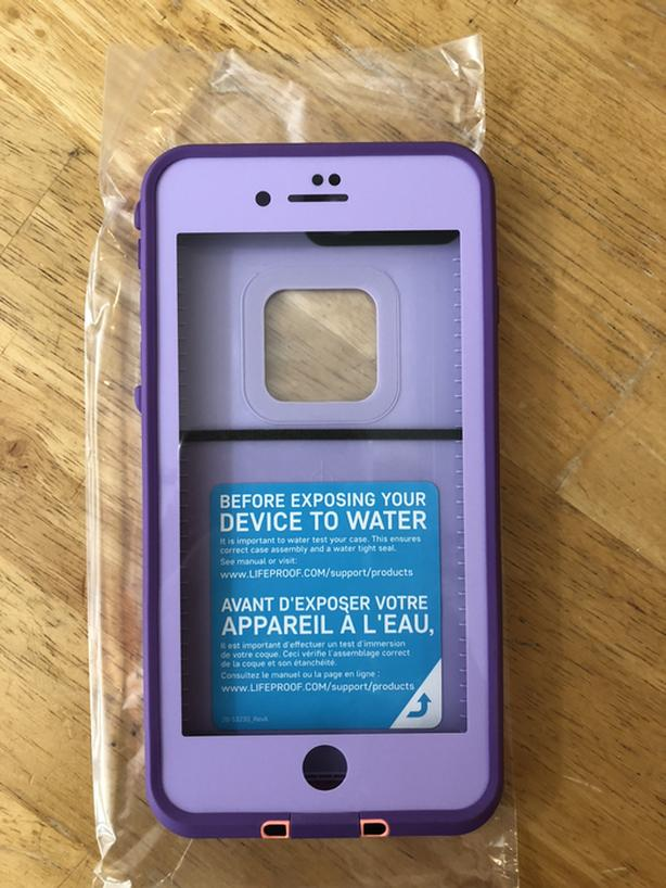 wholesale dealer 84d18 748fa  Log In needed $75 · NEW - Lifeproof FRĒ Fitted Hard Shell Case for iPhone  8 Plus/ 7 Plus - Purple