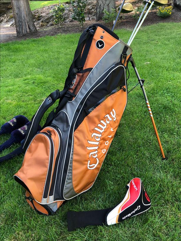 Complete Set Of Callaway Clubs Plus Bag And Taylormade Driver