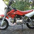 2016 honda crf50f with protaper kit