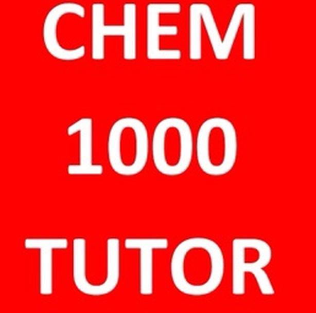 YORK U CHEMISTRY TUTOR EXPERT CHEM 1000 1001 2020 2021