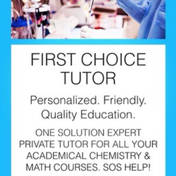 A+ CHEMISTRY AND MATH TUTOR PhD YORK U
