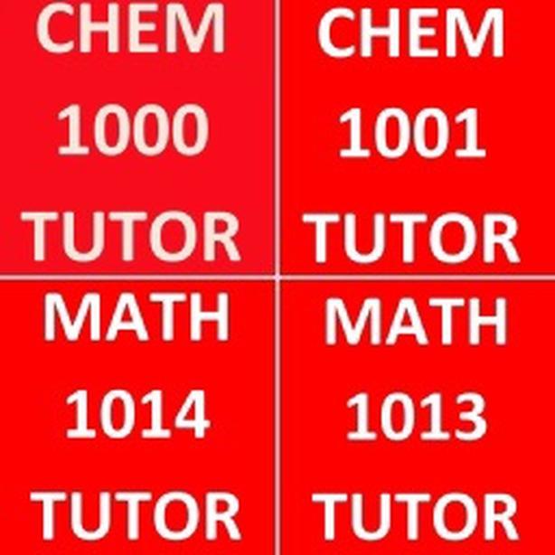 MATH AND CHEMISTRY TUTOR YORK U PhD EXPERT A+++