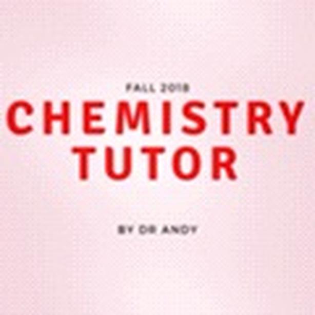 CHEMISTRY TUTOR YORK U PhD A++++++