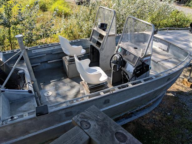 Aluminum Boats For Sale Bc >> 9 500 18 Ocean Sport Welded Aluminum