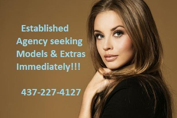 Established Agency seeking Models, Actors & Extras Immediately!!