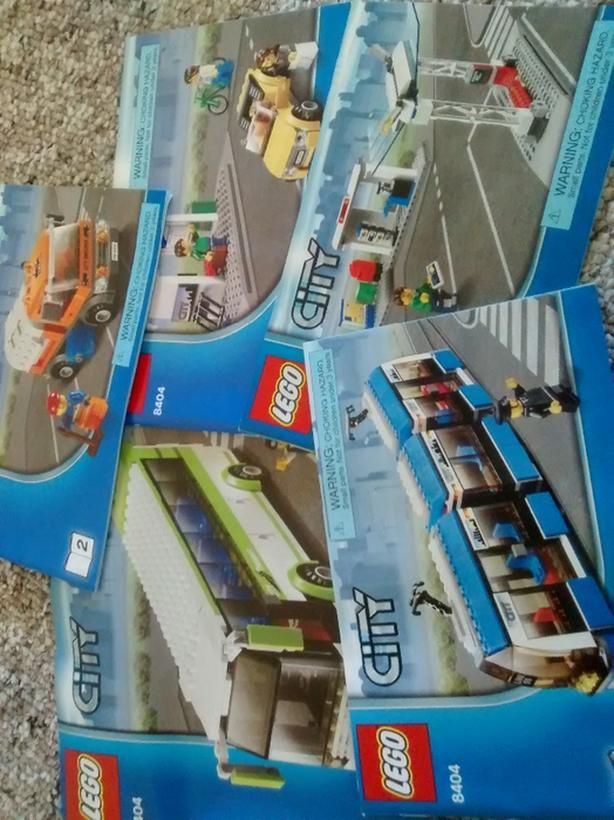 Lego City 8404 Victoria City Victoria