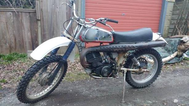1976 husqvarna cr250