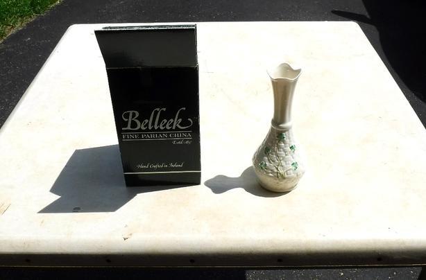 Belleek Vase Kanata Ottawa