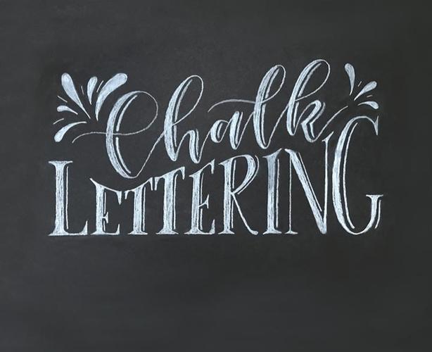 Chalk/Sign Artist