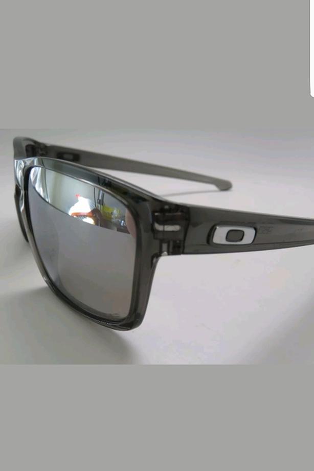 516ba285ae5 Oakley Sliver Sunglasses OO9262-13 Chrome Iridium Polarized Lenses ...