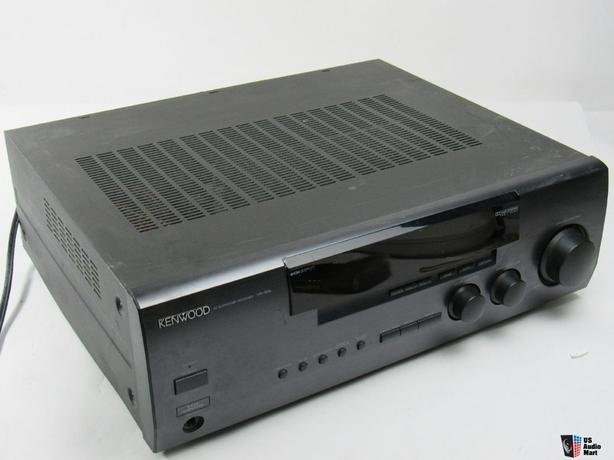 KENWOOD 400 WATT SS RECEIVER MODEL KR V305 PHONO INPUT