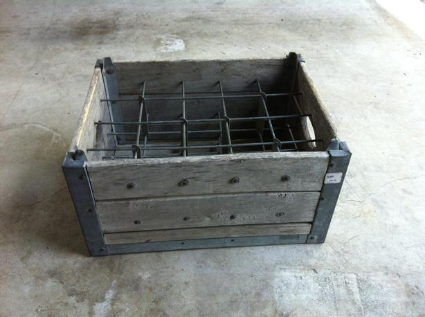 Antique Milk Crate