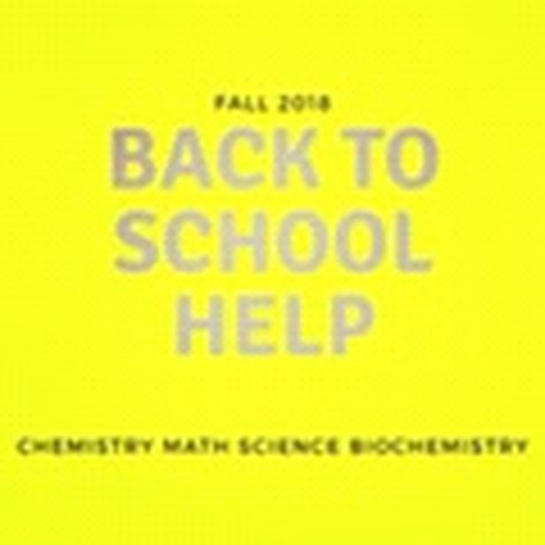 CHEMISTRY AND MATH PhD EXPERT TUTOR A+++
