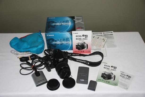 Canon EOS Digital Rebel XT/EOS 350D 8 0MP Digital SLR Camera