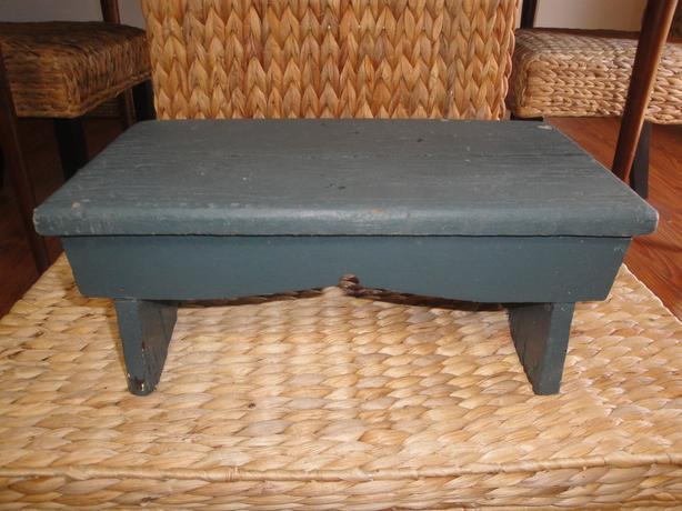 📌Bannockburn Heritage Site📌 Charming Antique Wooden Farmhouse Step Stool
